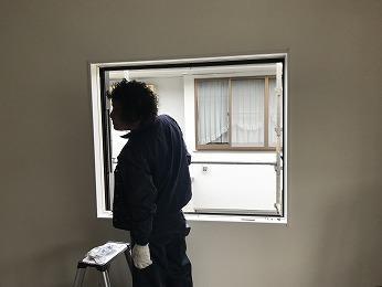 断熱サッシ室内側LIXILシンフォニー