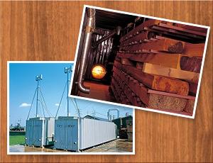 特許技術の木材乾燥機を開発しました。