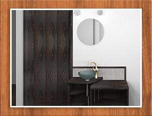 外壁や壁紙の色などを変更する、シミュレーションも可能です。