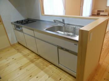 自然素材リフォーム キッチン