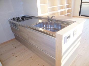 マンション 自然素材 リフォーム キッチン