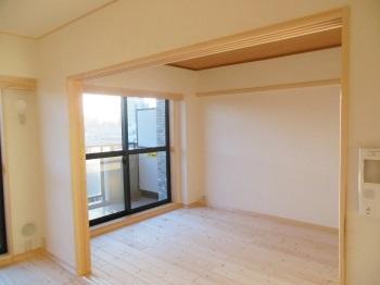 マンション 自然素材リフォーム 洋室