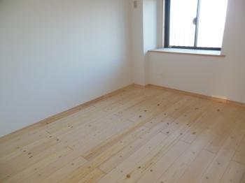 マンション自然素材リフォーム 無垢床板