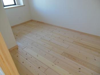 マンション自然素材リフォーム 洋室床