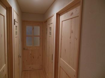 マンション天然木建具扉