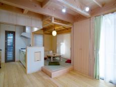 天然木の家小上がり和室